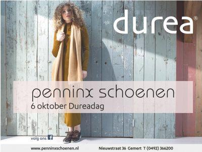 Dureadag bij Penninx Schoenen op donderdag 6 oktober