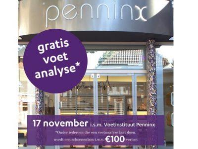 Gratis voetanalyse bij Penninx Schoenen