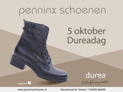 Donderdag 5 Oktober Dureadag!