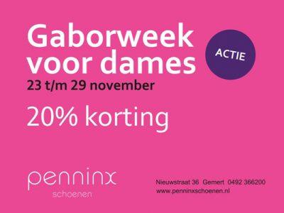 Gaborweek voor dames!