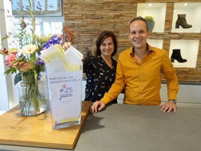 De gelukkige prijswinnaars van de cadeaubon twv € 100,-!