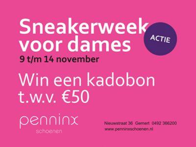 Sneakerweek voor dames!